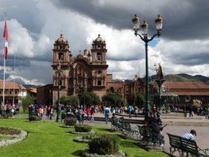 Die Katheldrale von Cusco