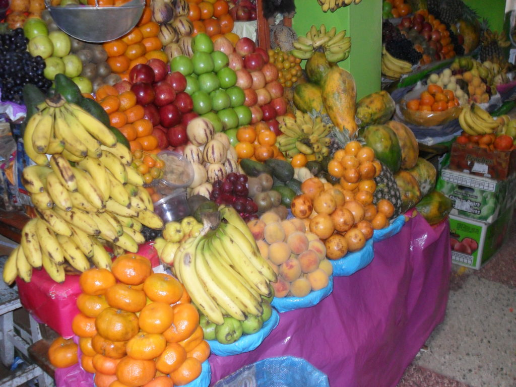 Puno Peru Mercado Bellavista