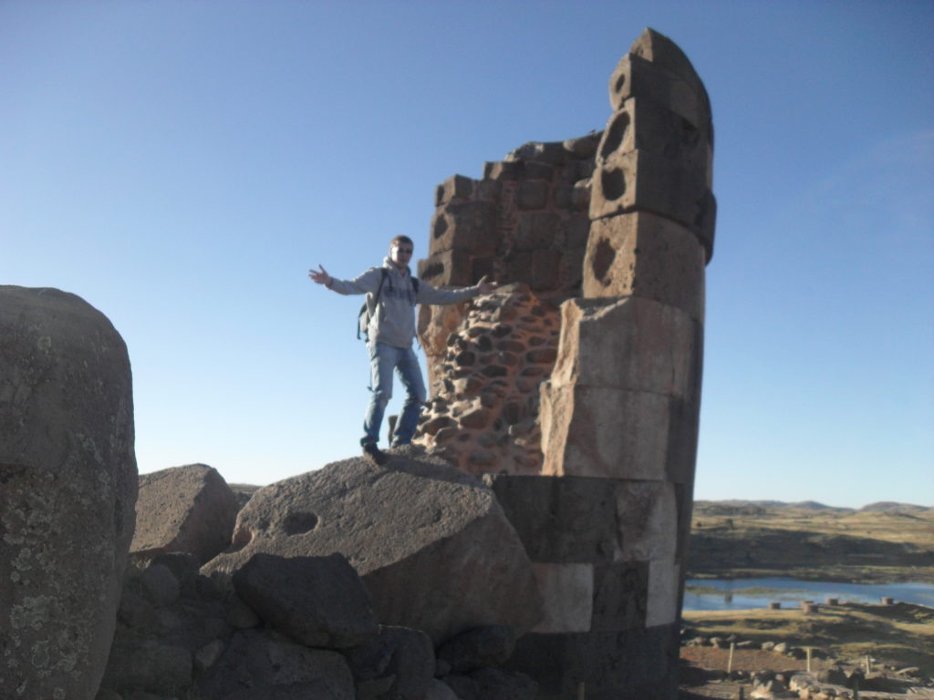 Puno Peru - die Grabtürme von Sillustani