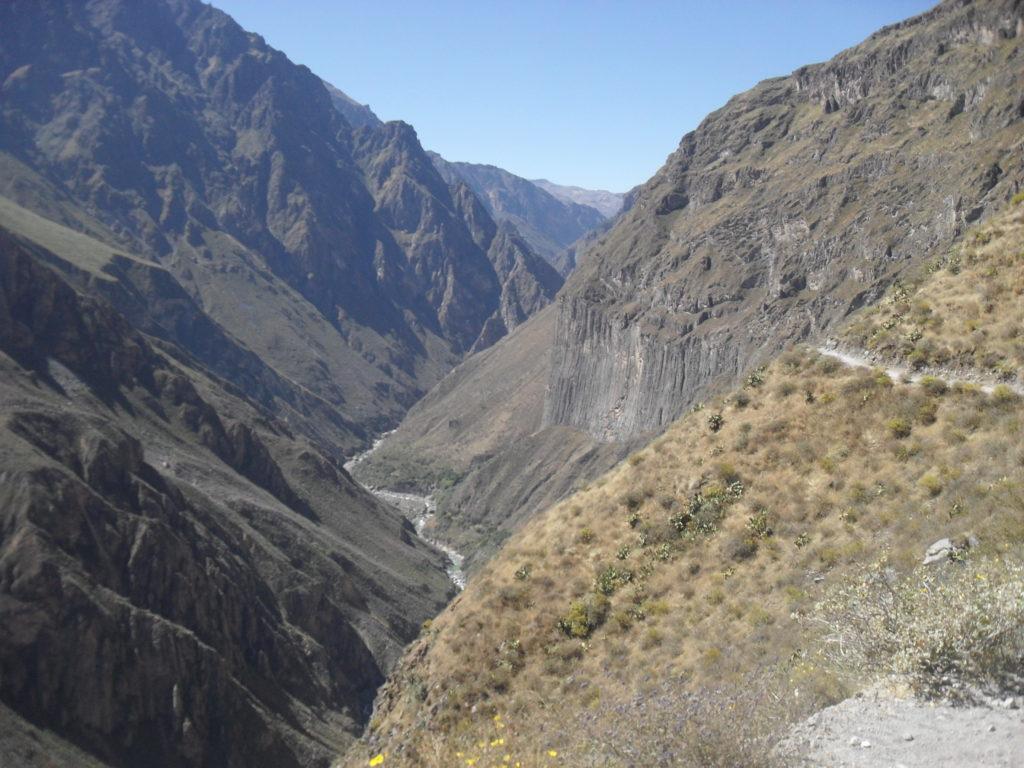 Arequipa Peru - der Colca Canyon