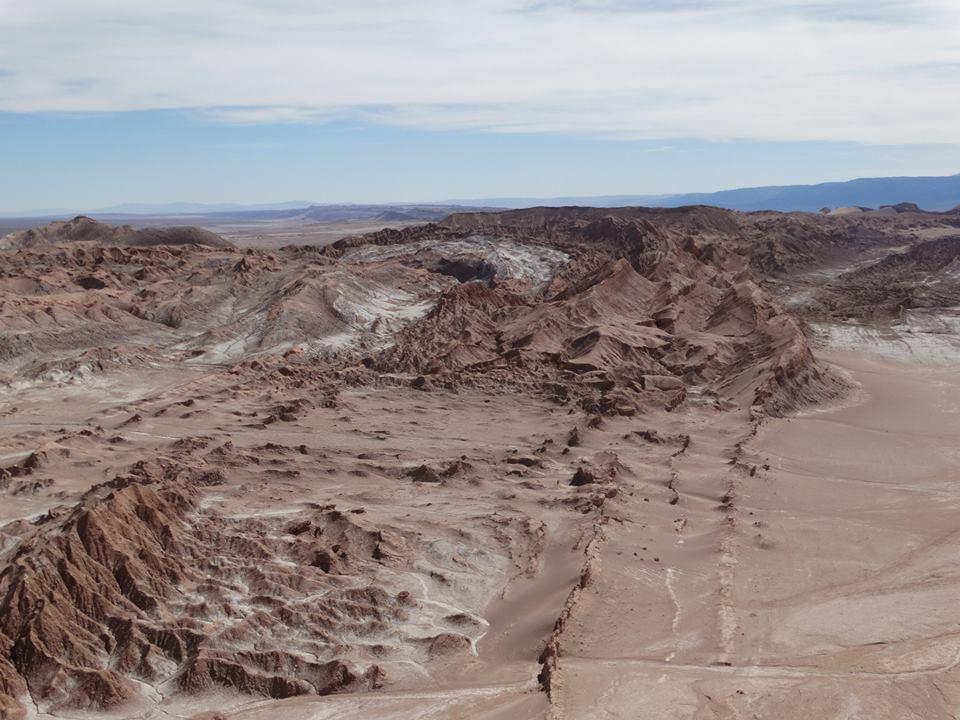 Die Landschaften im Norden von Chile sind überaus spektakulär: das Tal des Mondes bei San Pedro de Atacama