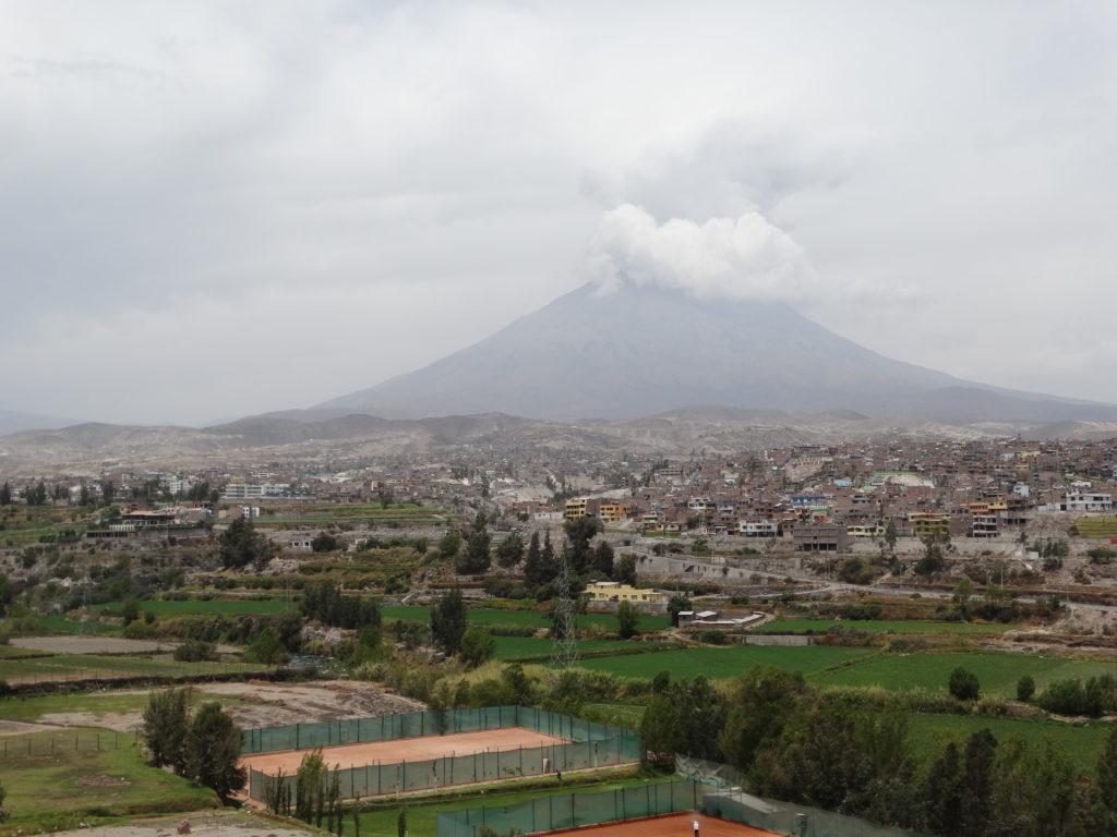 Arequipa Peru - der Vulkan Misti