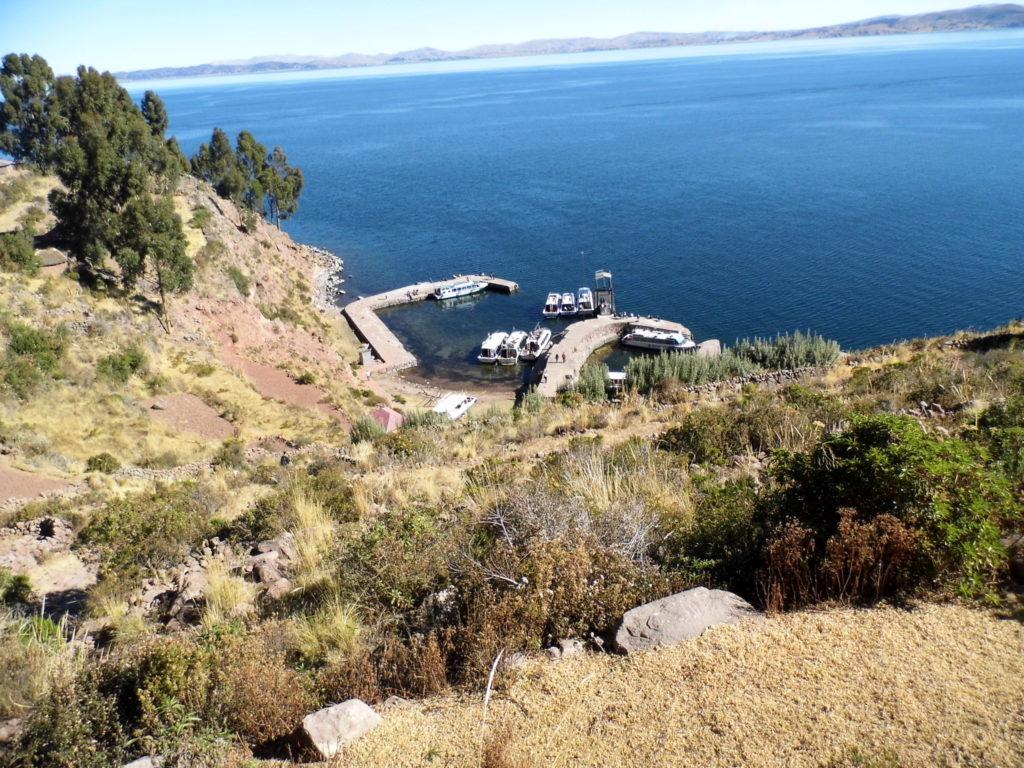 Puno Peru Taquila Insel