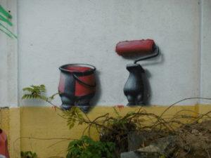 So streicht man also eine Wand =)
