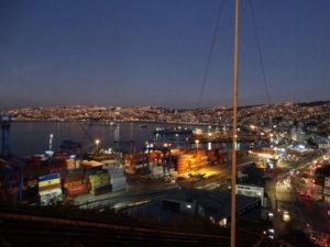 Blick auf den Hafen vom Aussichtspunkt (Mirador) am Cerro Artillería