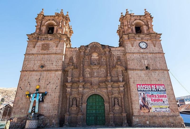 Puno Peru Kathedrale