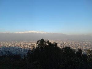 Santiago de Chile, die Metropole am Fuße der Andenkordillere