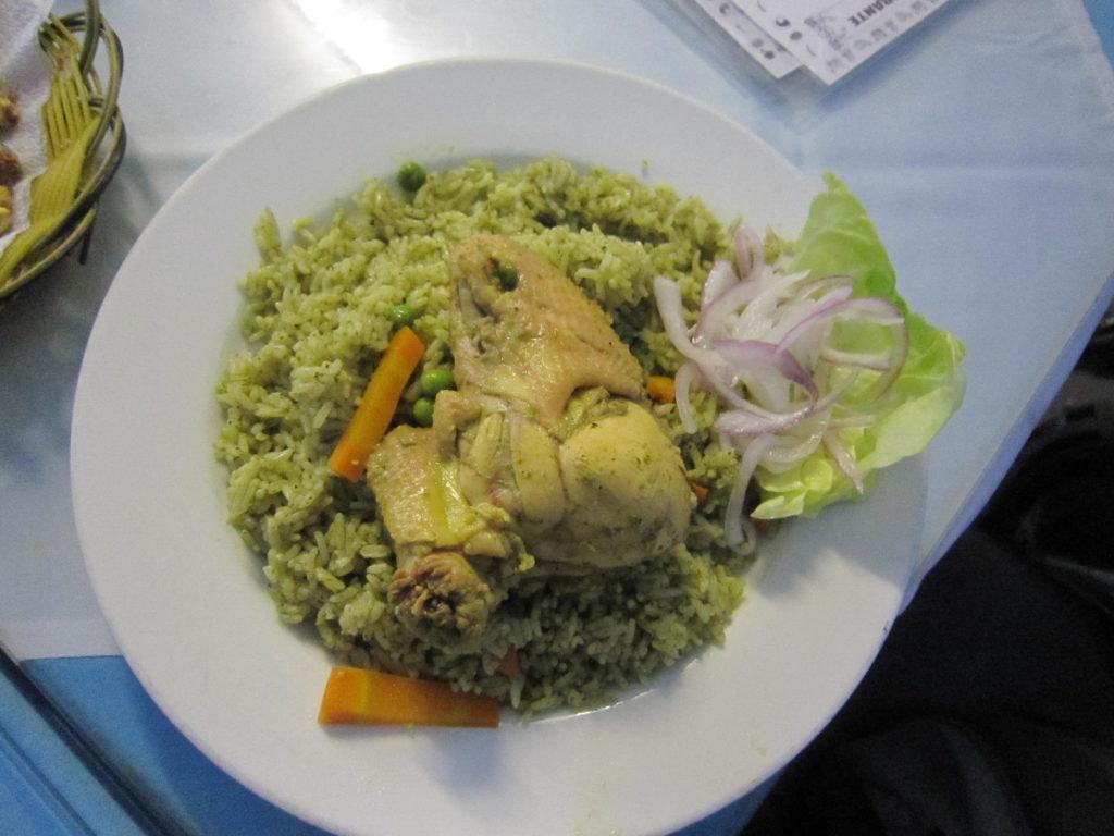 Arroz con pollo (Reis mit Hühnchen)