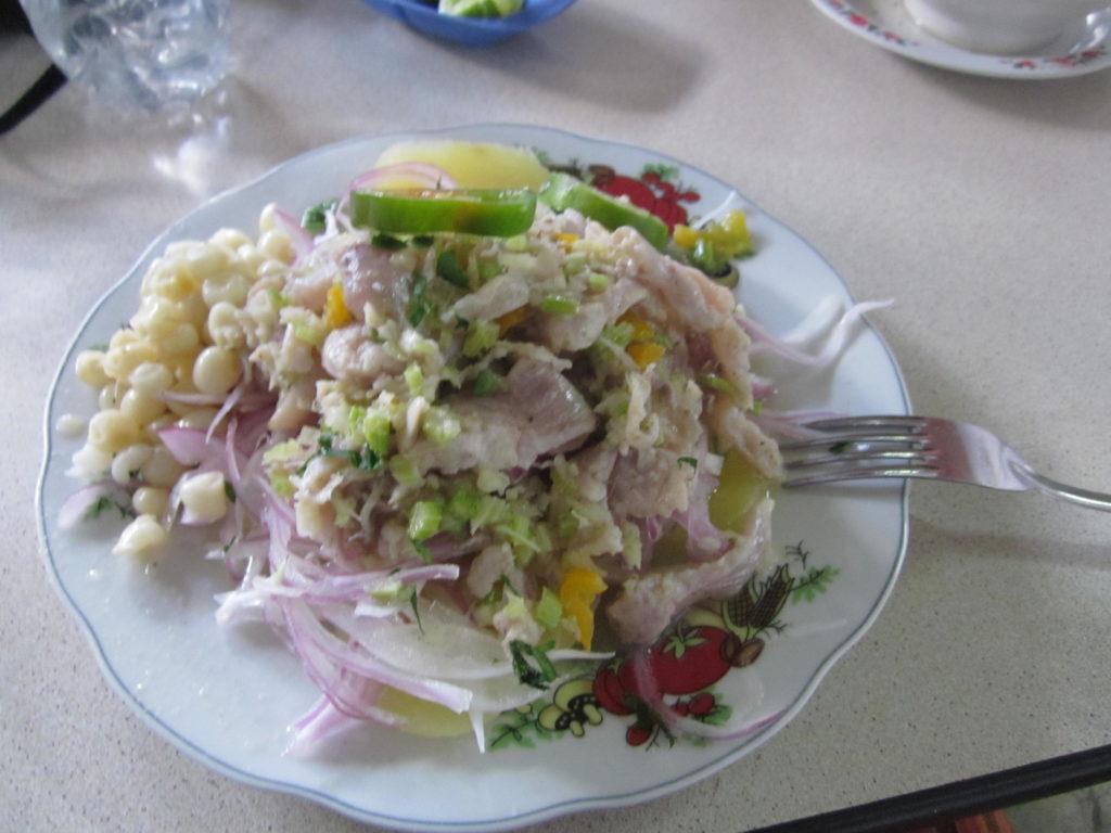 Die Ceviche ist DAS Nationalgericht von Peru und auch eine meiner Leibspeisen