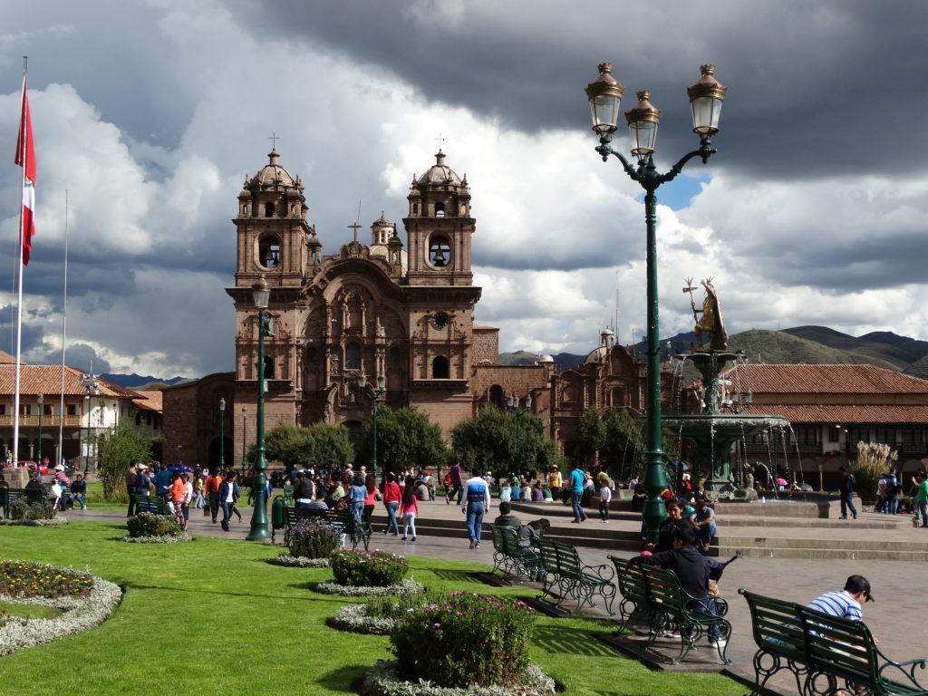 Die Kathedrale von Cusco an der Plaza de Armas