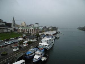 Der Hafen von Valdivia
