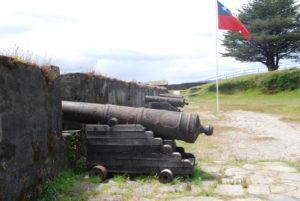 Die Festung Corral bei Valdivia. Aufgenommen von Kerstin.