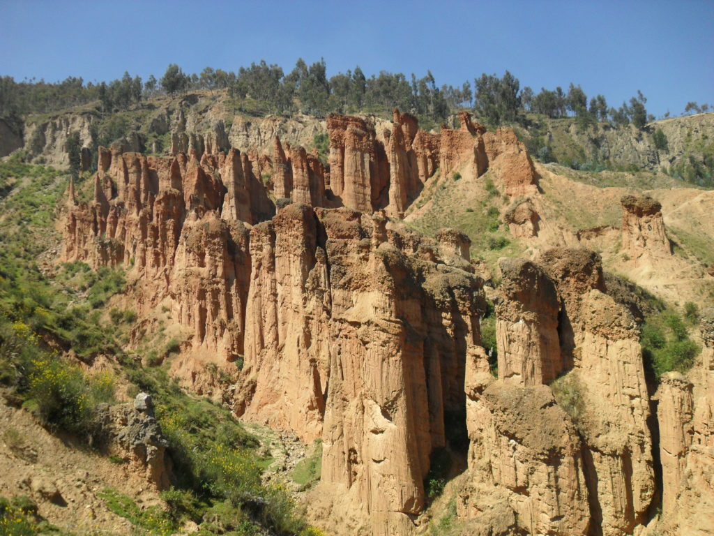 Der Canyon Torre Torre in Huancayo