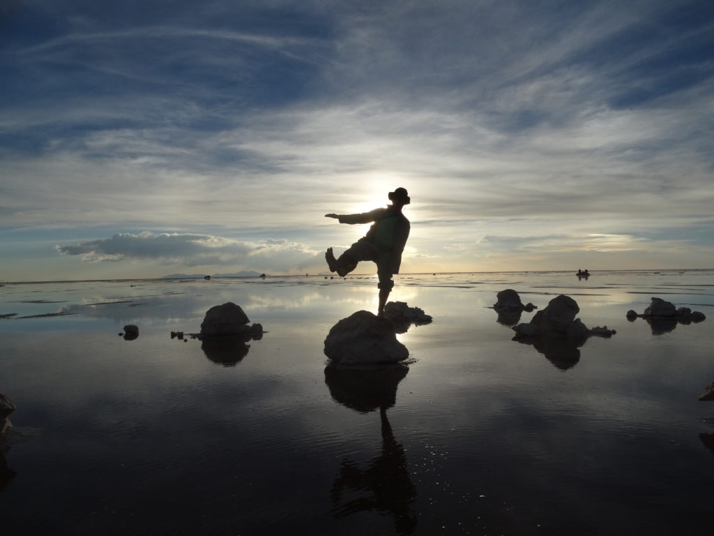 Der Salar de Uyuni