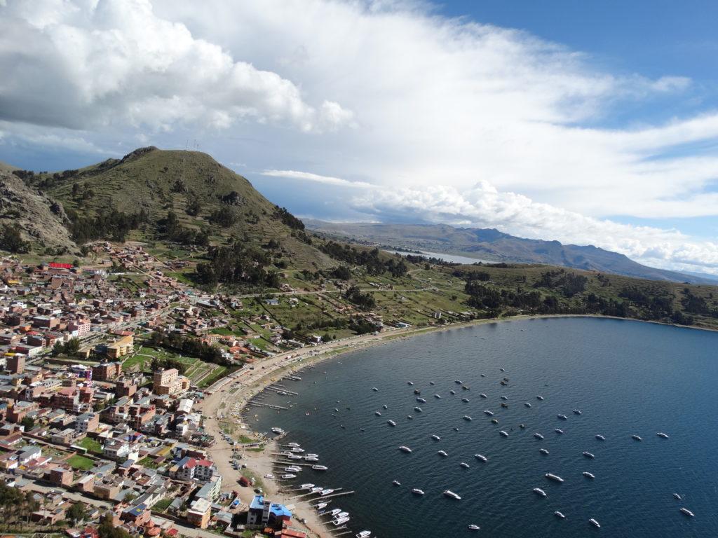 Das hippe Städtchen Copacabana am Titicacasee
