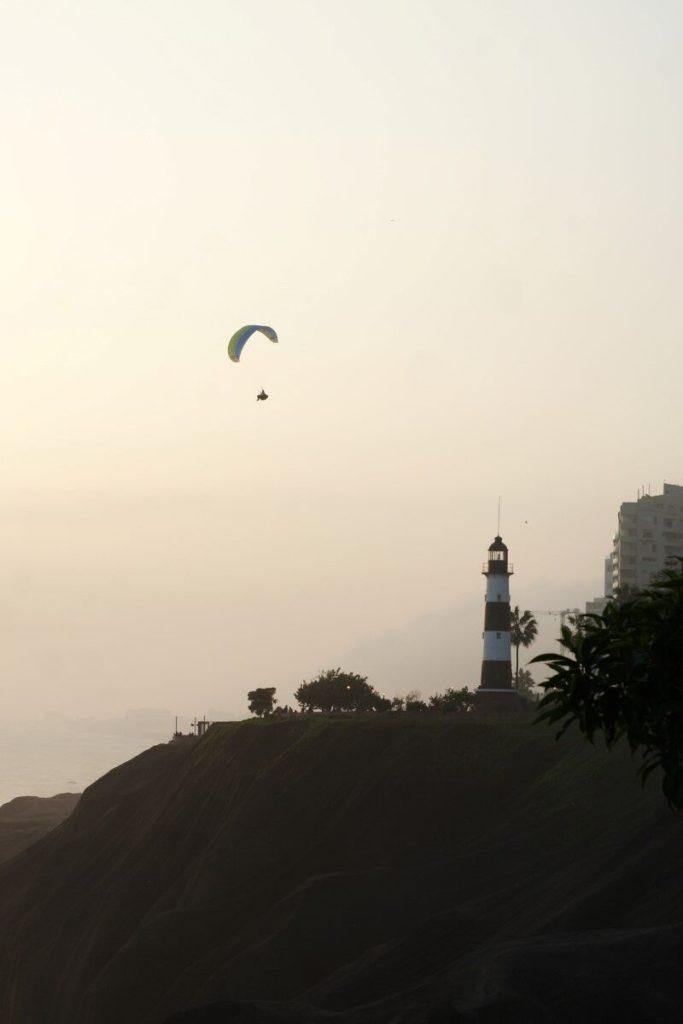 Paragliding - in Miraflores ist es möglich