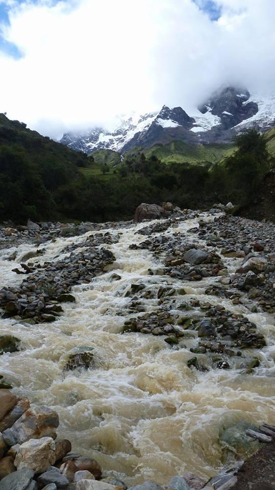 Die wunderbaren Landschaften beim Salkantay-Trek