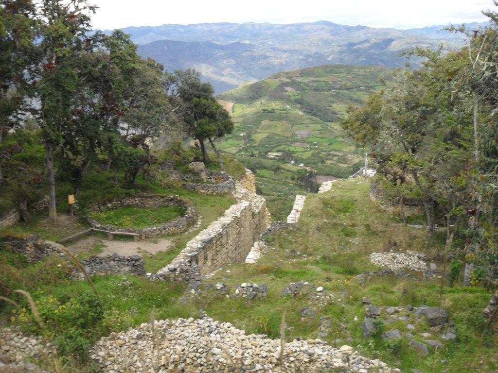 Die Grundmauern zahlreicher Behausungen der früheren Bewohner sind noch erkennbar