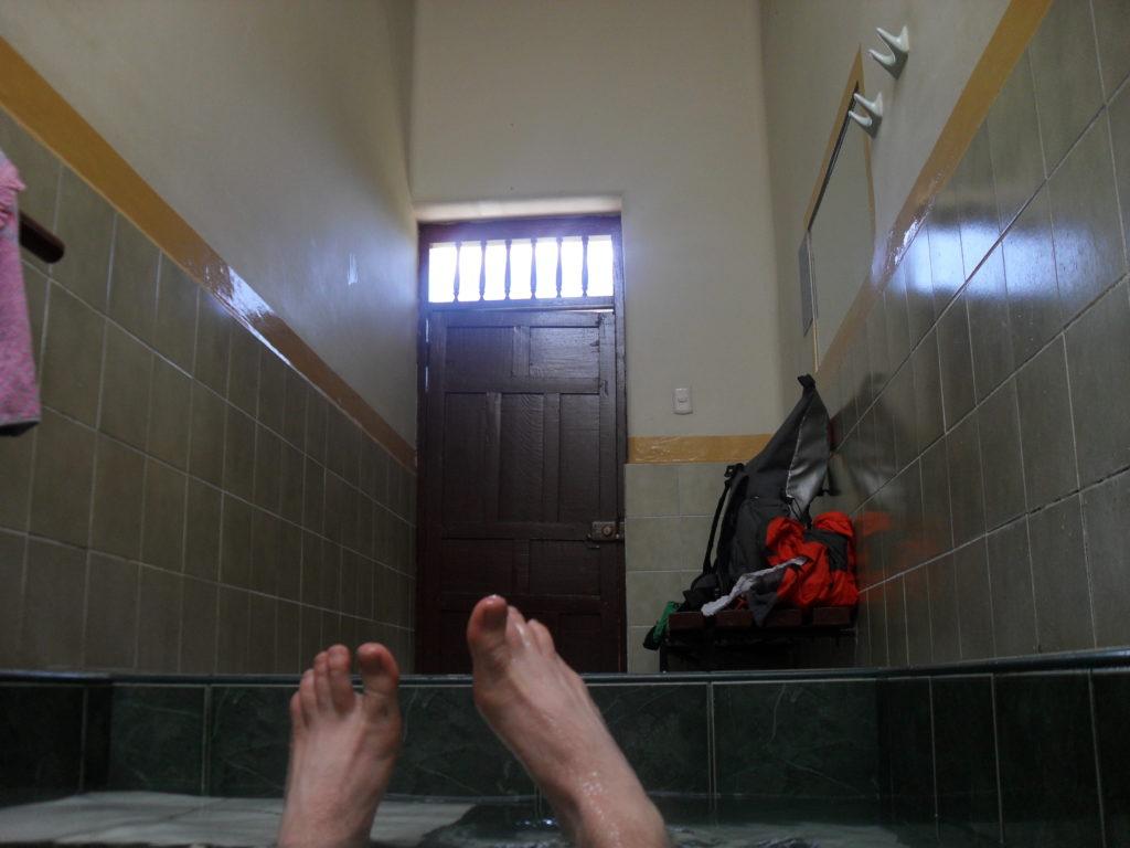 Ein entspanntes Bad in den