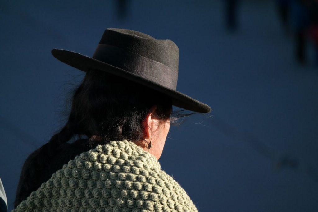 Eine typische Boliviana. Ein Foto von Beo