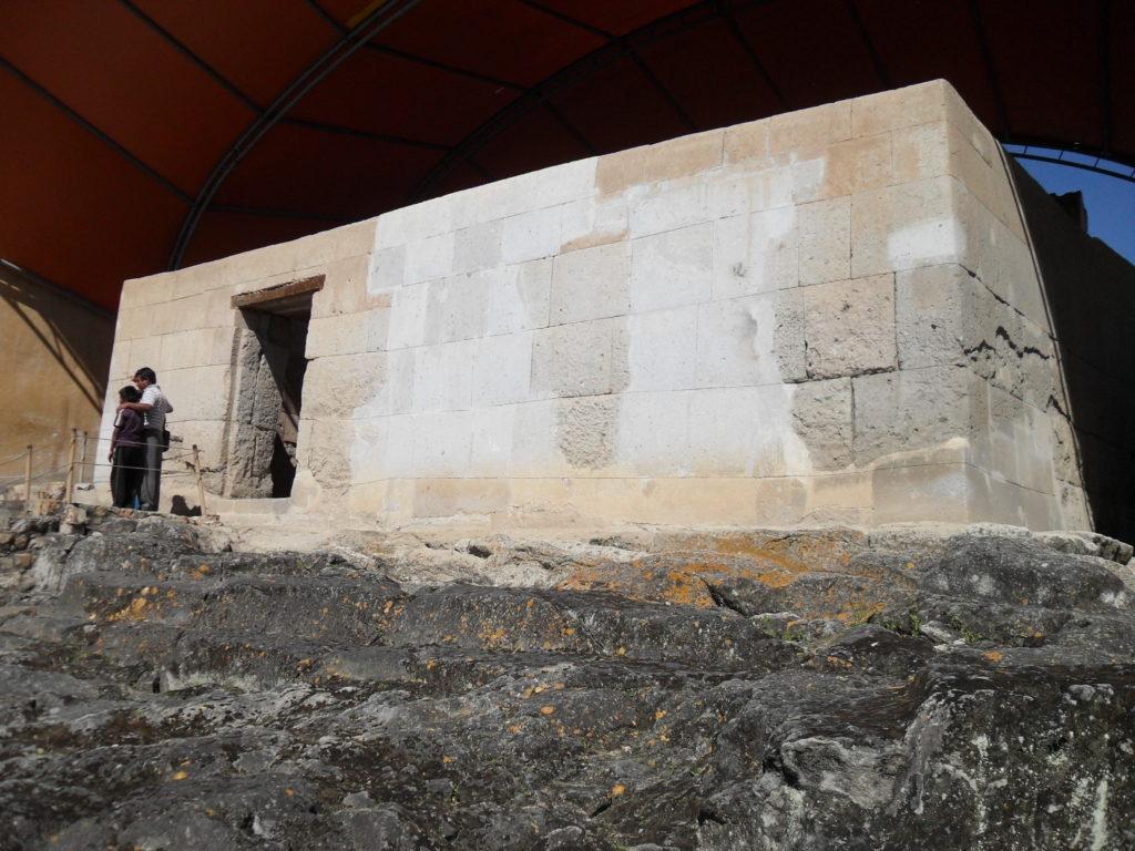In diesem Raum wurde Atahualpa gefangen gehalten