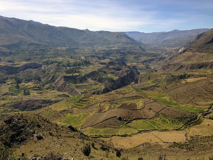 Das Colca-Tal (Valle del Colca) ist eine der schönsten Landschaften in Peru