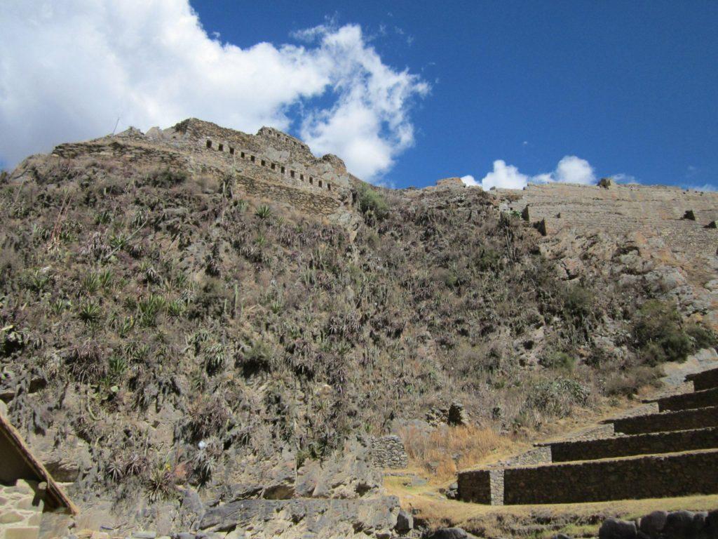 Die Festung Ollantaytambo. Zur Besichtigung dieser benötigst du ein Boleto Turístico, dieses kannst du in Cusco kaufen.
