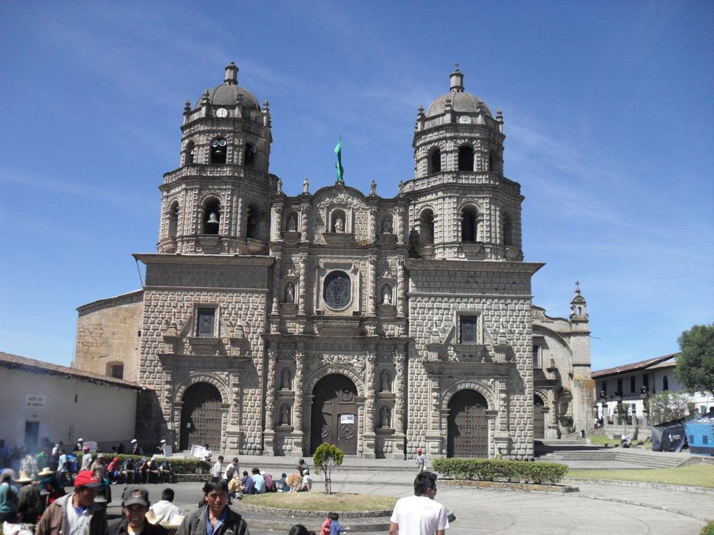 Die schöne Iglesia San Francisco von Cajamarca