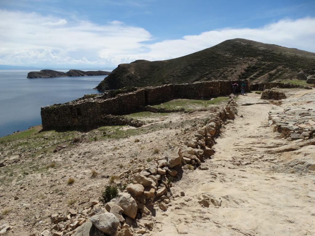 Die Chincana-Ruinen. Der Legende nach liegt hier die Geburtsstätte des Inka-Reiches.