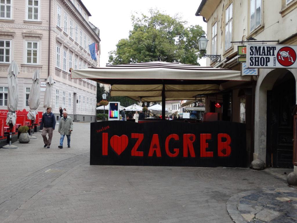 Ein Lokal in der Tkalčićeva ulica