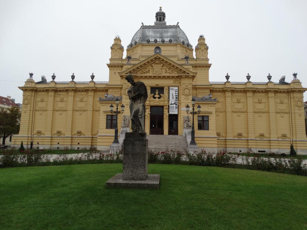 Der Kunstpavillon von der anderen Seite
